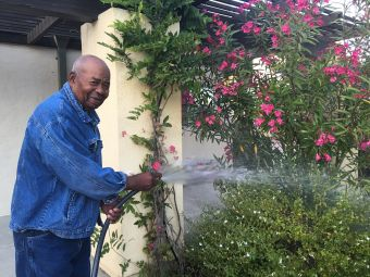 Helping With The Chores at Wellness Care Senior Living at Ojai